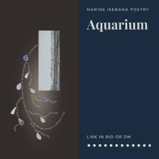 """""""Aquarium"""" visual poem inspired by the lockdown last year on starting out free, but ending up in an aquarium with no trial in sight 🐚 🐚 🐚 🐚 🐚 Printed by @pictoremdecor One tree planted for one shipped print. 🐚 #aquarium #visualpoetry #freedom #jail #quarantine #marine #ikebana #poetry #pictorem #pictoremdecor #walldecor #covid_19 #covid #quarantinelife #lockdown #jailed #nautical #seashells #seashellcollector #seashells🐚 #seashellart #seashelldesign #poemdesign #artprints #artprint #poemdecor #micropoetry #poetry #poetryisnotdead #poetryisart #housearrest"""